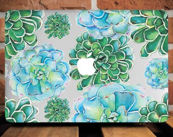 Succulents MacBook Air 13 Inch MacBook Pro 15 Case Gift for Her MacBook Pro  Retina 13