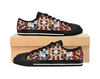 Tropical Sneakers Red