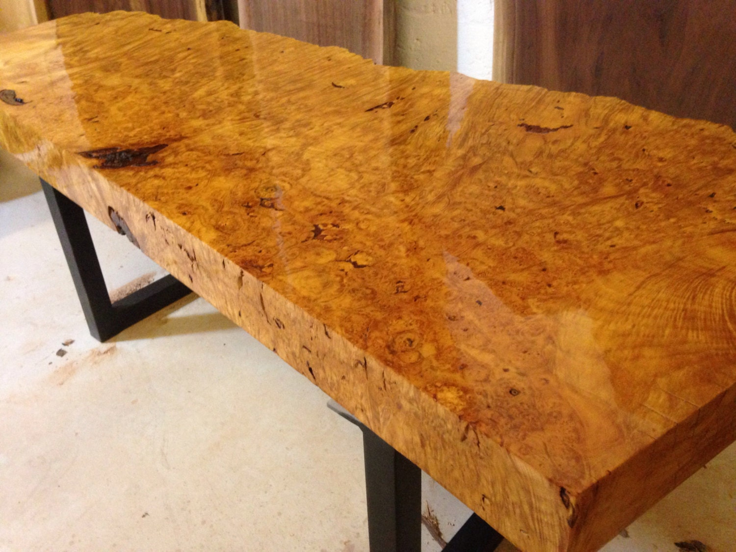 Live Edge Coffee Table Burl Live Edge Table Wood Slab