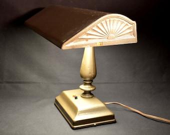 Bankers Lamp Column Lamp Desk Office Light Fixture