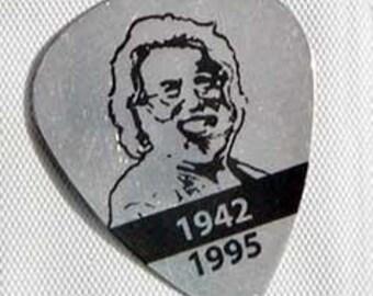 Jerry Garcia Metal Usable Guitar Pick Pin