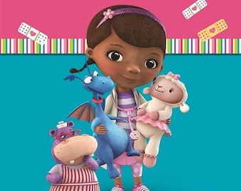 Disney Doc Mcstuffins Loot Bags Birthday Party Kids Gift Favours Tableware