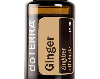 Doterra Ginger Essential Oil 15mL bottle