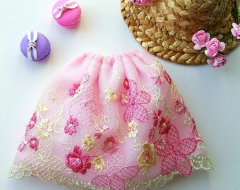 Pre-order: BJD YoSD spring lace skirt Choose your options!