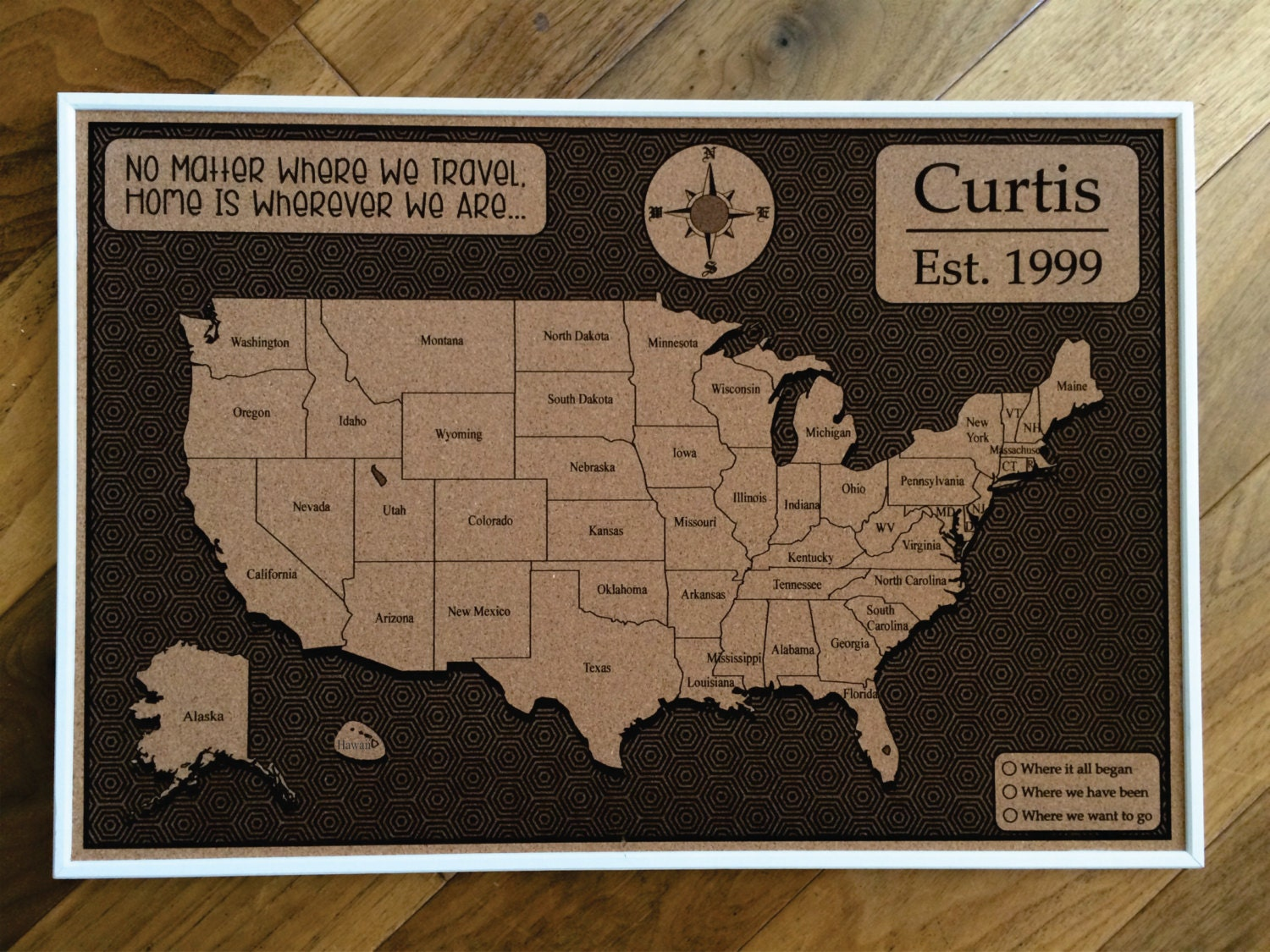 Custom cork usa map us map push pin travel map map usa zoom gumiabroncs Image collections
