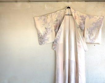 Vintage Kimono/ Silk Kimono/ Japanese Kimono