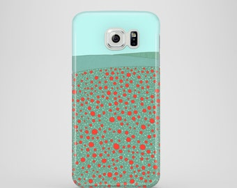 Poppy Field mobile phone case / Samsung Galaxy S7, Samsung Galaxy S6, Samsung Galaxy S6 Edge, Samsung Galaxy S5 / spring phone case