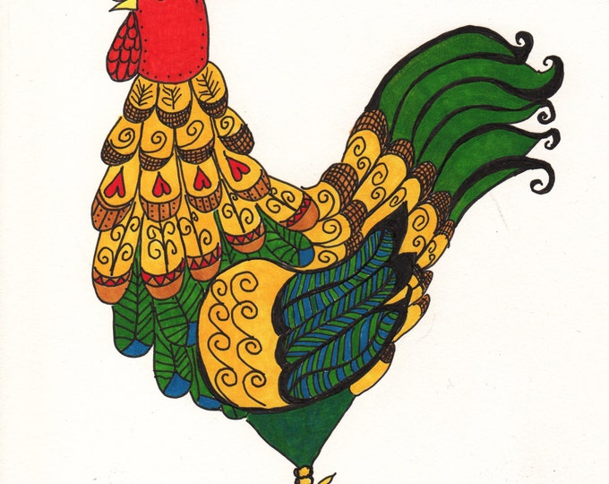 Cock A Doodle Cards