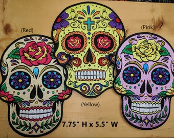 Sugar Skull Patches (Day of the Dead)