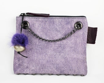 My Fun Babe - Soft Lavender - with Pom Pom