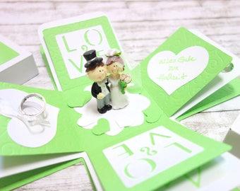Gift box Money gift for wedding