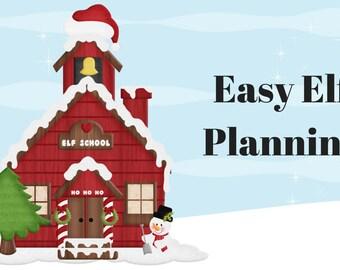 Christmas Elf Activities, Elf Planner, Christmas Planner, Help with Elf Planning, Elf Activity Planning Mini Course, Christmas Elf Antics