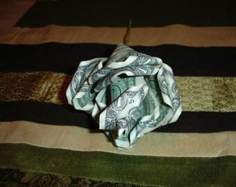 Dozen Roses Money Origami Rose Bouquet
