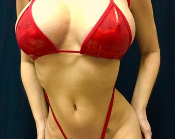 New Lot of 3/exotic dancer costumes/ sling shot thong sets/All size available/custom made/exotic dancer/stripper/stage/pole dancer/model