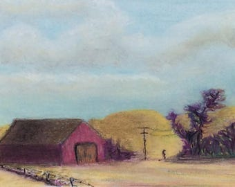 "Signed Print of ""Amanda's Barn"""