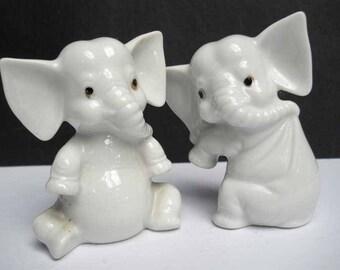 White Elephants China Vintage
