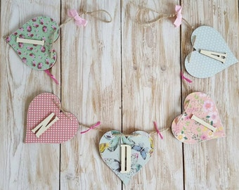 Personalised Wooden Bunting