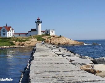 Artist's Solitude Eastern Point Lighthouse Fine Art Photography