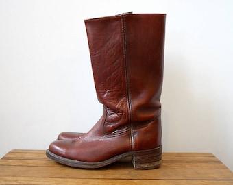 Vintage Frye Campus Boots, Size 10.5 D