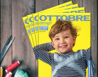 """Magazine """"Ottobre Design Kids"""" 01/2018"""