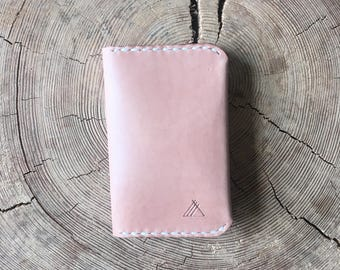 Leather Card Wallet Leather Wallet Personalised Leather Card Holder Custom Leather Cardholder Leather Card Case Credit Card Holder