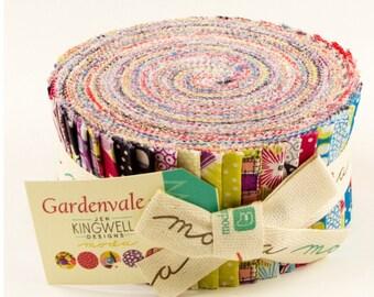 Sale Gardenvale jelly roll by Meg Kingwell for Moda fabric