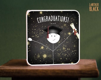 Graduation card / Funny graduation card / Congraduations / SM52