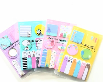 Sticky Tape Notes in Folder - choose from 4 designs