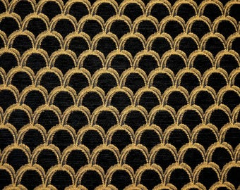 Damascelli Black Burch Fabric
