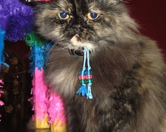 Cat-Dog Birthday Hat Sombrero for cat or dog - Customizeable pink sombrero
