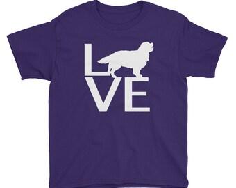 LOVE Dog Youth Short Sleeve T-Shirt