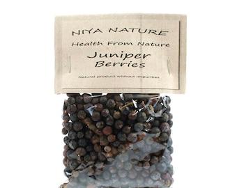 10 gr. Free / 30 gr. Juniper Berries, Juniper Berries Organic, Dried, Non-GMO Herbs, Aromatic Loose Tea Herb, Juniperus communis, Tea