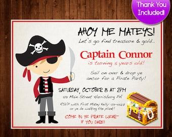 Pirate invitation pirate birthday invitation pirate party pirate birthday invitation boys birthday invitation pirate invitation pirate birthday printable pirate filmwisefo