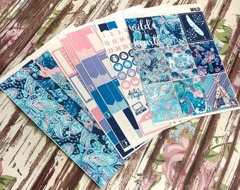 FOIL Wild Deluxe Kit, planner stickers