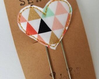 Heart Feltie Jumbo Bookmark - XL  - Planner Clip - Planner Accessory  - Small Gift