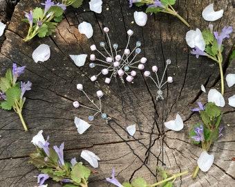 Wedding Hair Pins // Wedding Hair Pin // Hair Pins // Bridal Hair// Bridal Hair Pins // Hair Pin Beads // Crystals