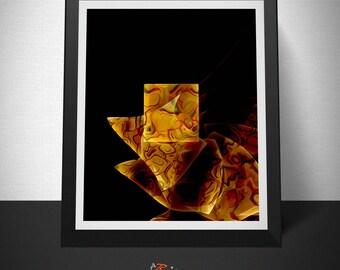 Animal laminate abstract, new media, Print abstract art, Digital art download, wall art,sheet digital , Original Design, Artexai, jEchai