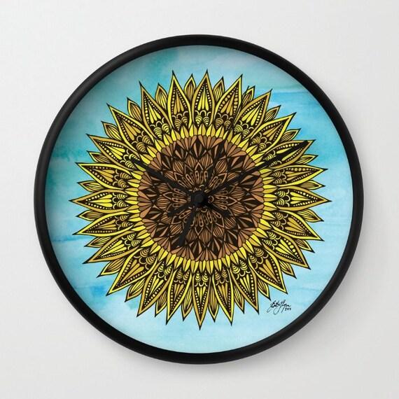 Zentangle - Sunshine Clock