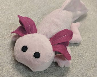 Custom Axolotl Plush