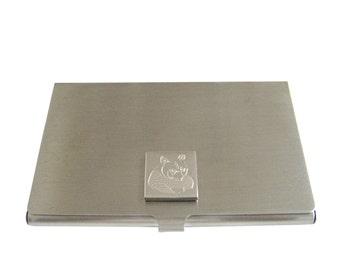 Engraved Panda Business Card Holder