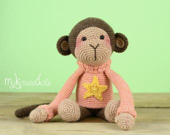 Crochet Pattern - Monkey Ankie