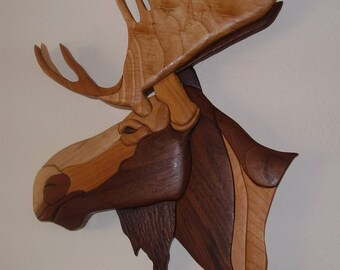 Moose Head Artwork