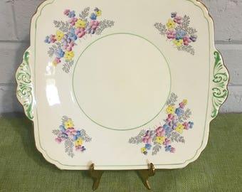 Vintage Foley Cake Plate & Vintage cake plates   Etsy