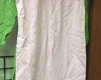 Darling VIntage Pink and White Polkadot Dress C1960