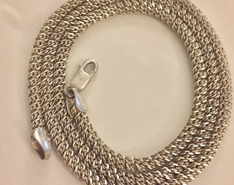 THICK Sterling Silver Italy Chain 925 Vintage