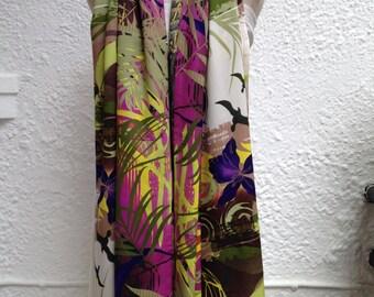 Scarf Ladies Boho cotton patterned