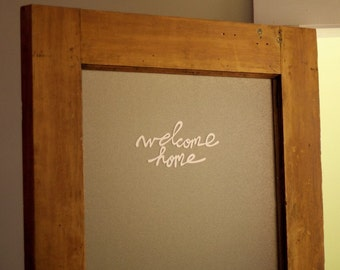 welcome home by Elsie Larson elsiecake from A Beautiful Mess and Red Velvet Art vinyl wall decal
