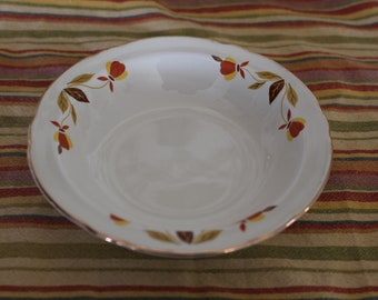 Jewel Tea Autumn Leaf Fruit or Berry Bowls : autumn leaf dinnerware - Pezcame.Com