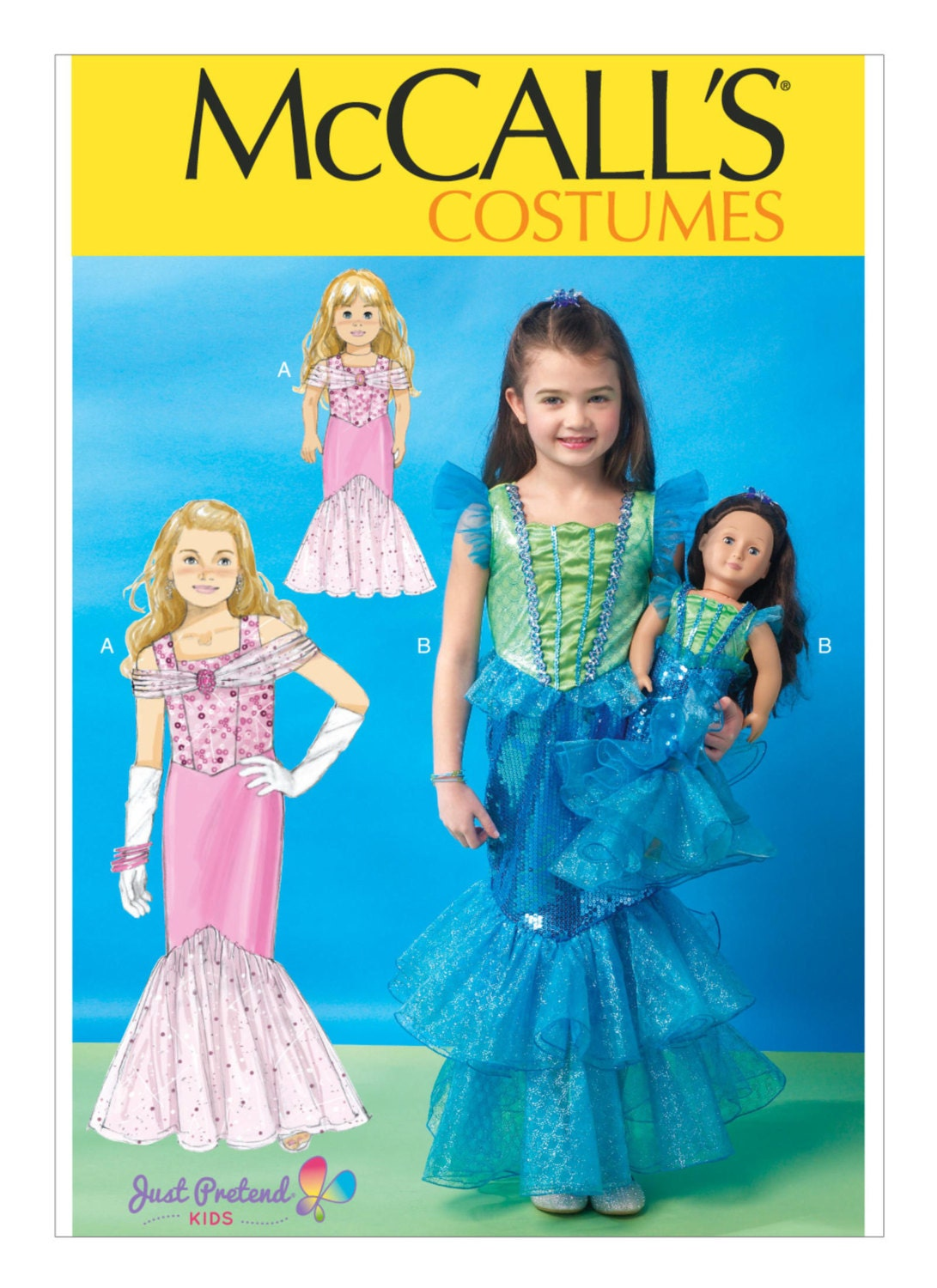 Sewing Pattern for Children\'s/Girls\'/18