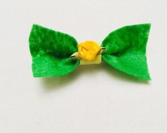 Kawaii spring time hair accessorie bows!! Handmade!!